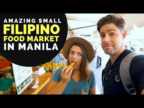 We love this FILIPINO FOOD MARKET in Makati Manila