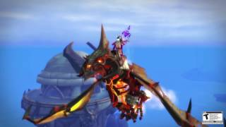 Flying is now earnable in Legion, for further details check out this walkthrough: https://worldofwarcraft.com/en-us/news/20565047/unlocking-flying-in-legion