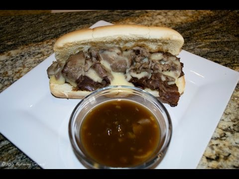 French Recipe: How to Make a Great French Dip Sandwich – Roast Beef Sandwich with Au Jus