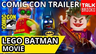 Welcome to TalkBricks! Today I'm breaking down the trailer for The LEGO Batman Movie that was posted during San Diego Comic Con!! Info: Trailer: https://www....