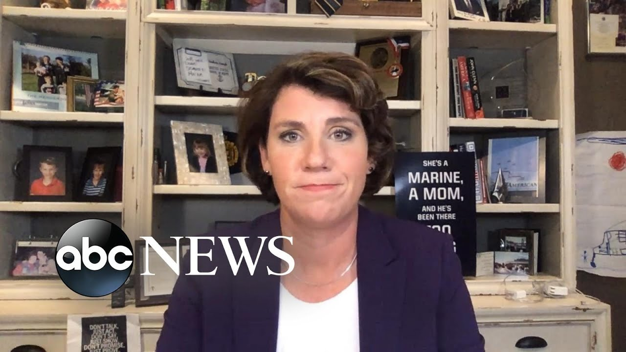 Amy McGrath discusses trying to beat Mitch McConnell in red Kentucky
