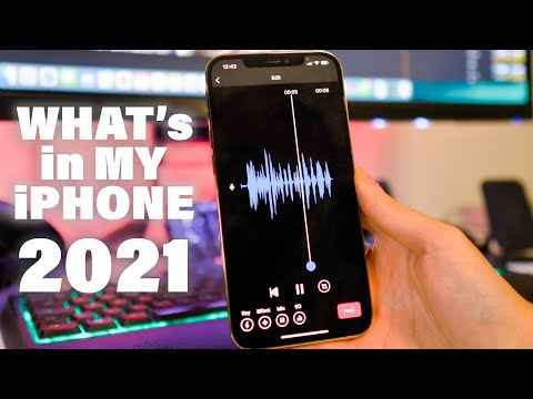 What's in my iPhone? - 2021