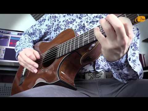 Ortega Guitars   Julian Scarcella plays the NL-WALKER-MM
