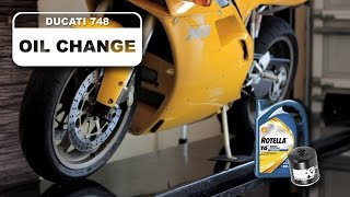 8. Ducati Oil Change How To For 748 Superbike 996 998 916