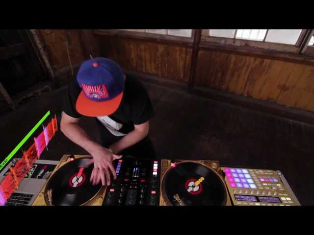 DJ Shiftee in Total Kontrol with Z2 and MASCHINE
