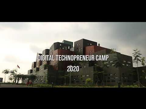 Digital Technoprenuer Camp 2020 BINUS@Malang Highlight