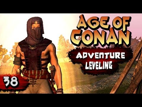 Age of Conan Unchained Gameplay : Gateway of Khitai Questing (Assassin)