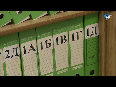 Новгородцев приглашают высказать мнение по поводу зачисления школьников в первые классы