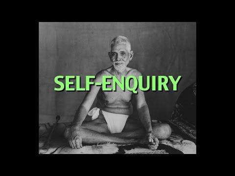 Talks on Sri Ramana Maharshi: Narrated by David Godman - Self-Enquiry