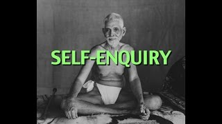 Talks on Sri Ramana Maharshi: Narrated by David Godman - Self-Enquiry