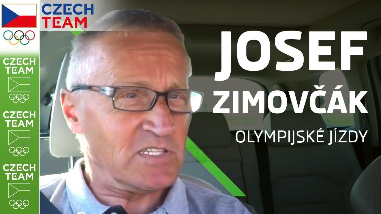 JOSEF ZIMOVČÁK přesedl z vysokého kola do auta | ŠKODA olympijské jízdy