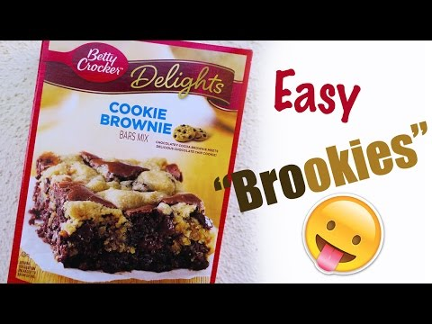 How to bake Betty Crocker Delights | Cookie Brownie 👅 | How to make | Sloyi Legu