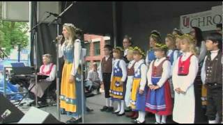 Geneva (IL) United States  City new picture : Swedish American Children's Choir 2011: Swedish Days Geneva Chamber Geneva, IL