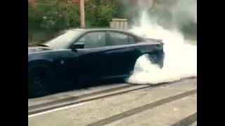 8. Dodge Charger Hellcat Burnout