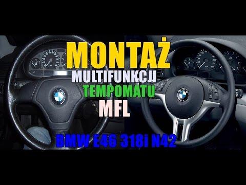 MONTAŻ MULTIFUNKCJI I TEMPOMATU BMW E46 N42 316i 318i 320i / SWAGTV
