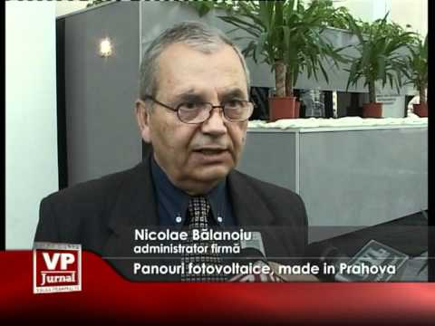 Panouri fotovoltaice, made in Prahova