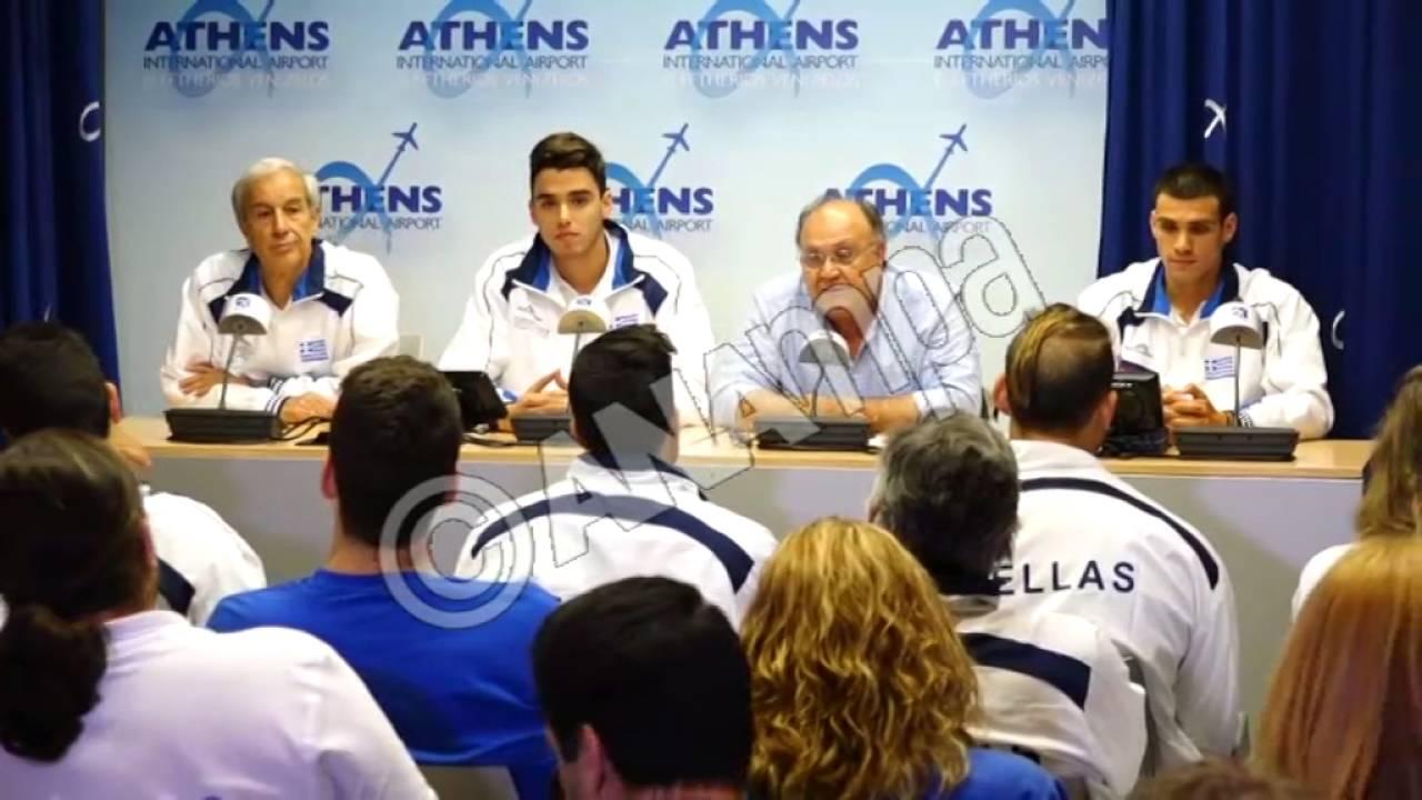 Στην Αθήνα ο «χρυσός» Βαζαίος και ο «χάλκινος» Χρήστου
