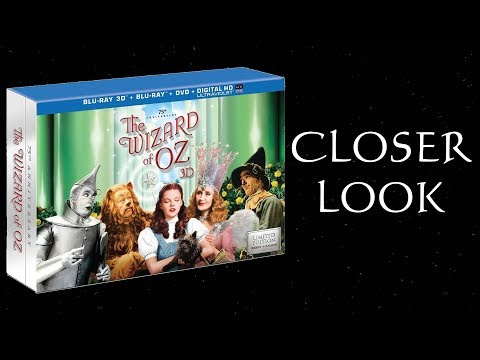 Closer Look - Wizard Of Oz 75th Anniversary 3D Blu-ray Set!