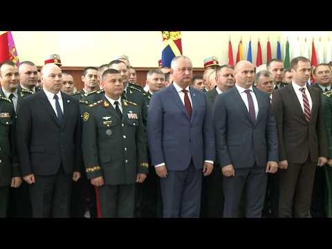 The President of the Republic of Moldova presented the new Chief of Staff