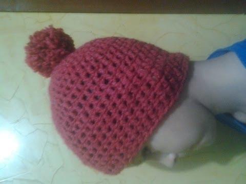 Como Tejer Gorro En Crochet Para Niño