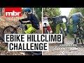 Hill Climb Challenge on e-Bikes | Mountain Bike Rider