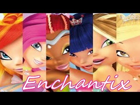 Winx Club~ Enchantix [Italian] (Lyrics)