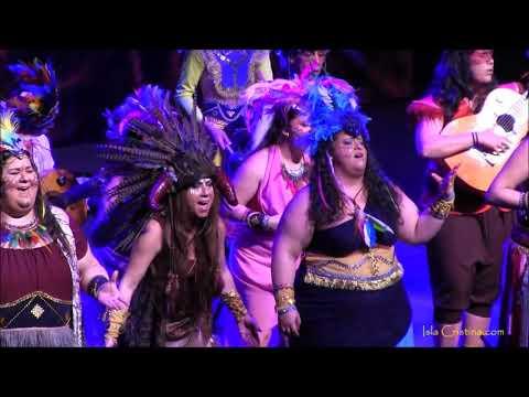 Comparsa Amazonia. Carnaval de Isla Cristina 2018