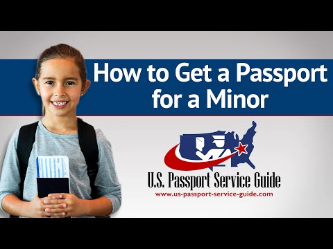 new passport application form for minor