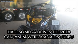 10. HadesOmega Drives the Can-Am Maverick X3 X DS Turbo