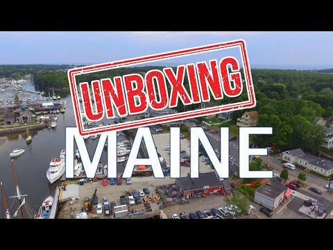 UNBOXING MAINE: What It's Like Living in MAINE