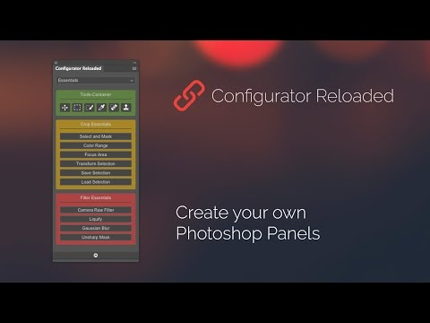 Configurator Reloaded – Photoshop Panel (English)