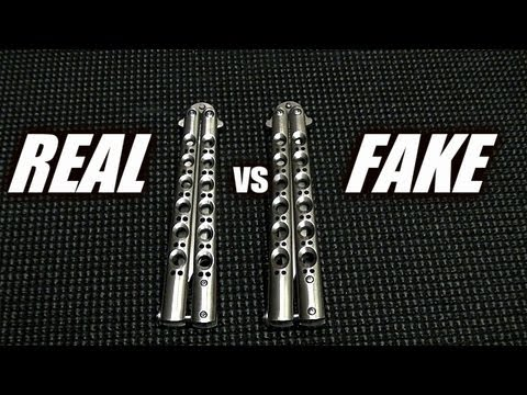 benchmade - This video covers some of the differences between a counterfeit Benchmade 42 and a real genuine Benchmade 42. The differences are very subtle as the clones h...