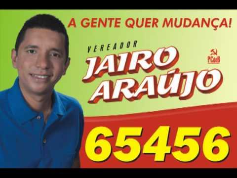 65456 - CANDIDATO DOS TRABALHADORES E TRABALHADORAS DE ITABUNA/BA. JAIRO ARAÚJO 65456 PCDOB.