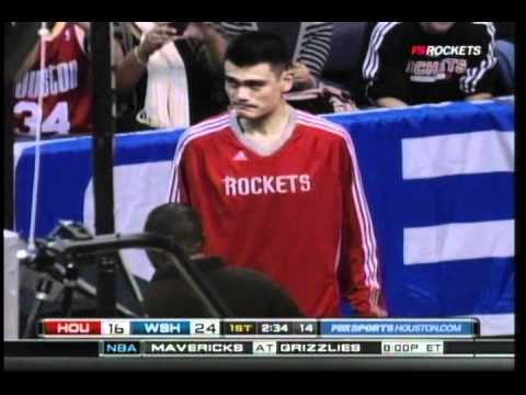 Yao Ming Injured -