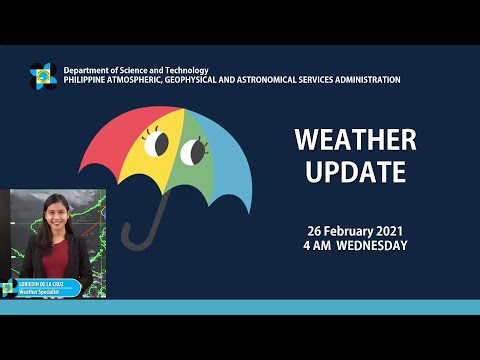 Public Weather Forecast Issued at 4:00 AM February 26, 2021