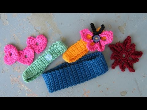 Download How to crochet a basic headband or hairband, easy HD Mp4 3GP Video and MP3