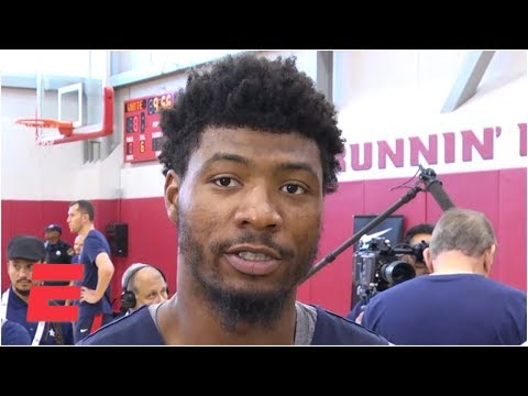 Video: Marcus Smart jokes that Kemba Walker talks more than he expected him to | FIBA World Cup