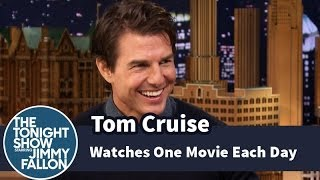 Video Tom Cruise Watches One Movie Each Day MP3, 3GP, MP4, WEBM, AVI, FLV Juni 2018