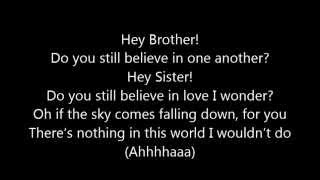 Video Avicii ~ Hey Brother (Lyrics) MP3, 3GP, MP4, WEBM, AVI, FLV November 2018