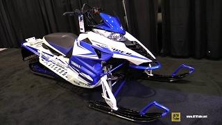 6. 2016 Yamaha SR Viper M-TX 153 Sled - Walkaround - 2015 St Hyacinthe ATV Show