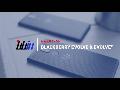 Hands-on:  BlackBerry Evolve & EvolveX