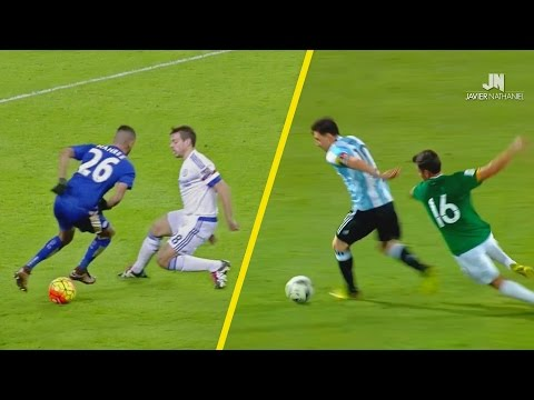 Top 10 Dribblers In Football 2015/2016