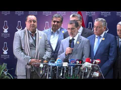رئيس الحكومة المكلف يعلن عن الأحزاب المشكلة للحكومة المقبلة