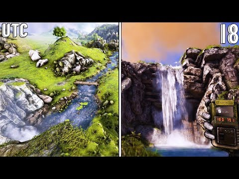 WATERFALL CAVE BASE! :: Best Building Locations in Scotland :: Ragnarok Explorers :: Ep. 18