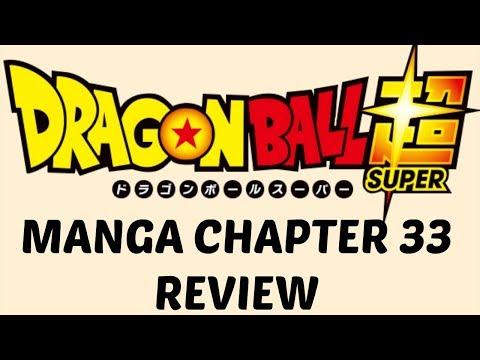 Dragon Ball Super Manga Chapter 33 (видео)