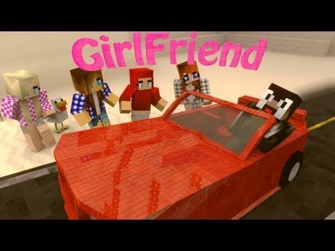 Minecraft: GIRLFRIEND Mod Showcase! (GIRLFRIENDS, DATES, BREAKUPS)