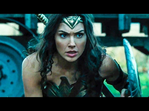 WONDER WOMAN All Trailer + Movie Clips (2017)