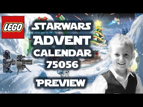 LEGO StarWars Advent Calendar 75056 - Previewed by TedTube