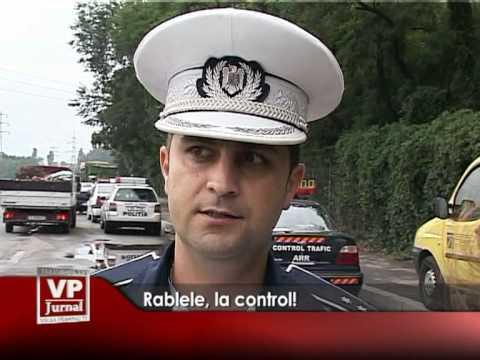 Rablele, la control!
