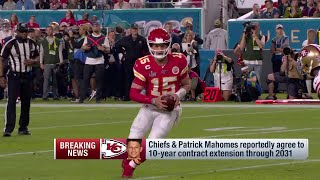 Patrick Mahomes Signs 10-YEAR Deal! by NFL